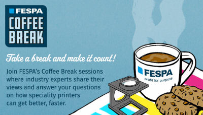 FESPA:n COFFEE BREAK -WEBINAARIT