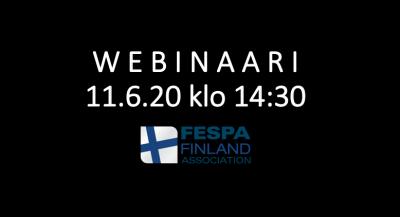 FESPA Finland järjestää webinaarin yhteistyössä Vainun kanssa
